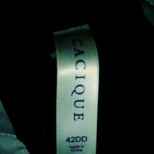 Cacique Intimates & Sleepwear - Cacique Smooth Boost Plunge Bra 42DD Underwire